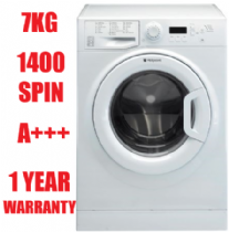 HOTPOINT WMBF742P White 7KG Washing Machine 1400rpm